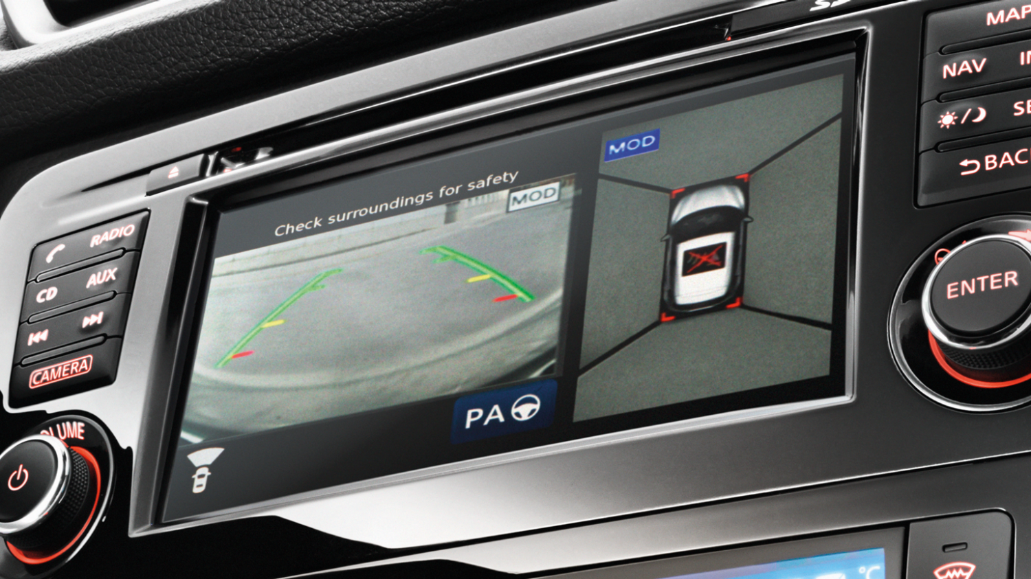 Nissan QASHQAI - Around View Monitor