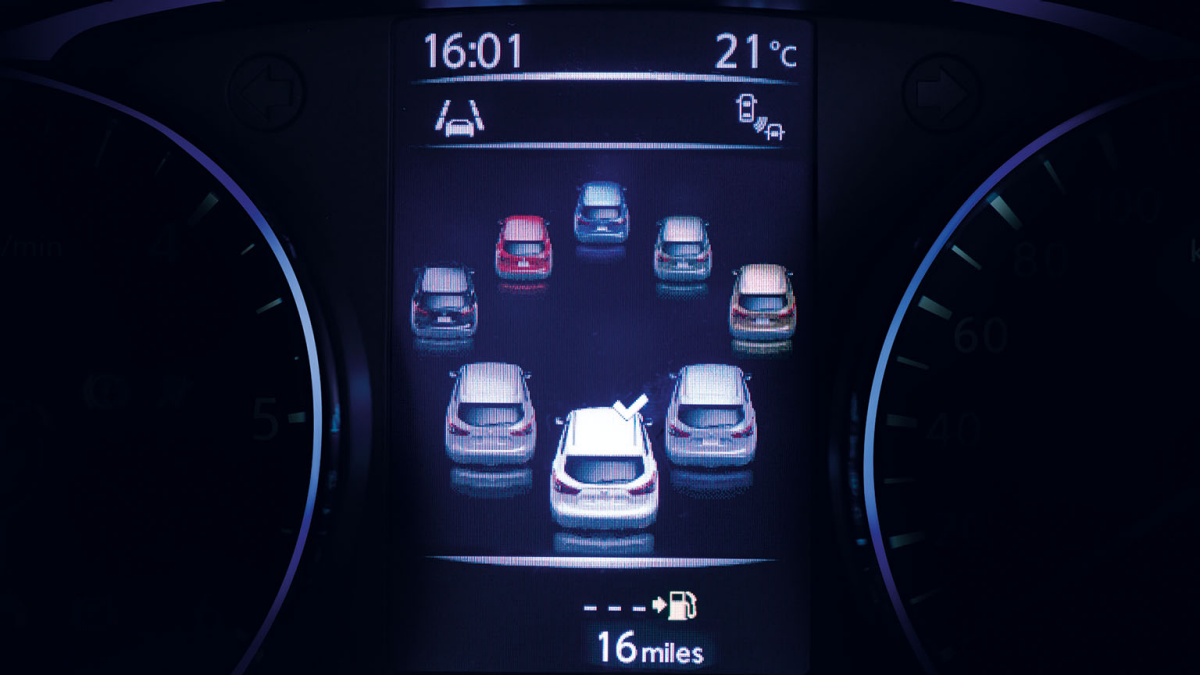Vehicle colour selector