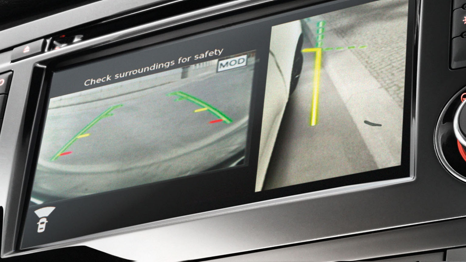 Small SUV - Around View Monitor | Nissan Qashqai