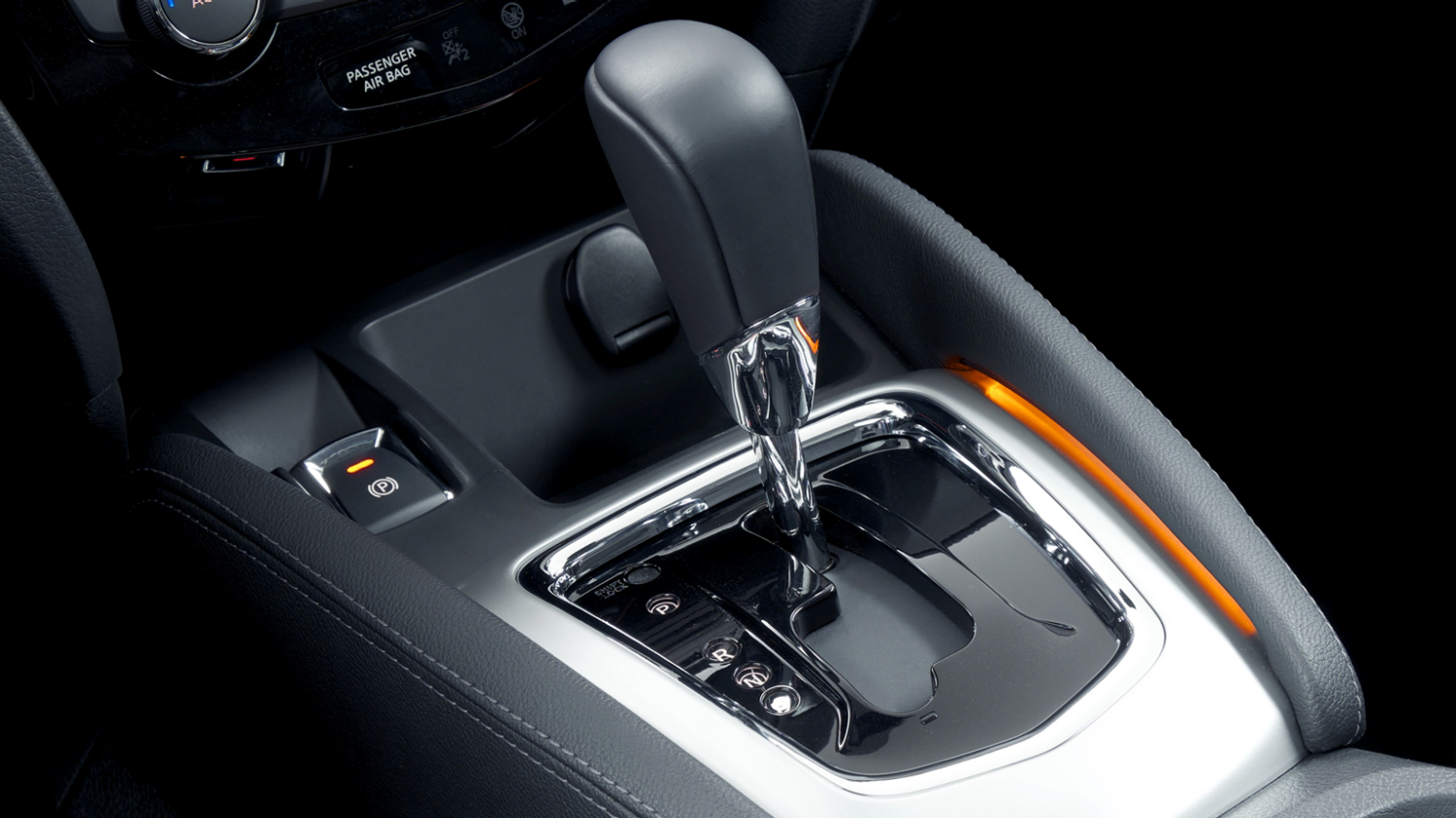 Nissan Qashqai - Continuously Variable Transmission shifter