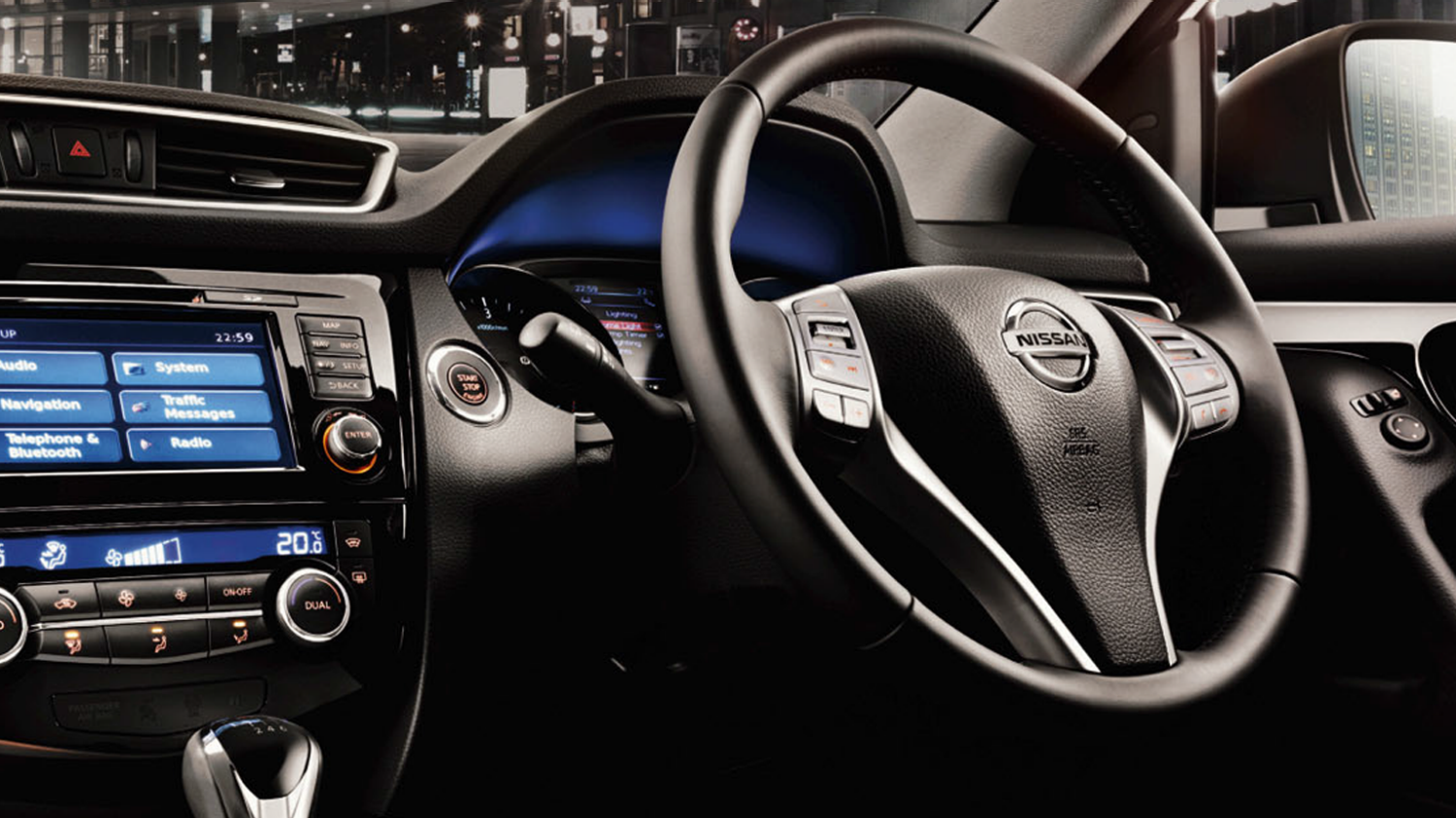 Nissan Qashqai | Electronically-assisted steering