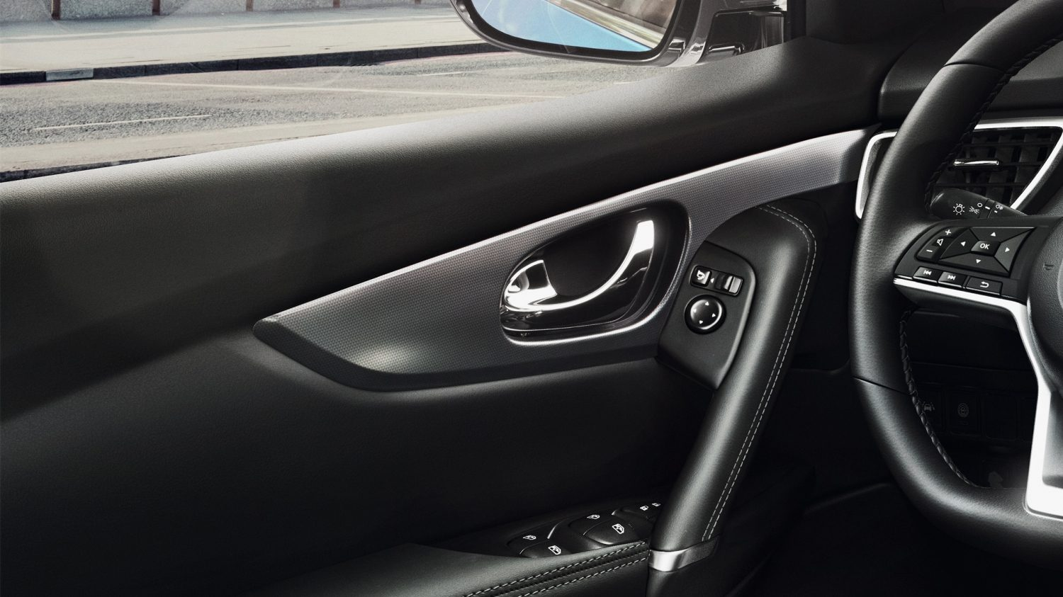 Qashqai door isolation