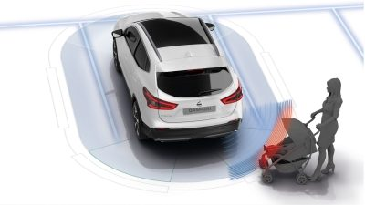 Nissan Qashqai -Moving Object Detection