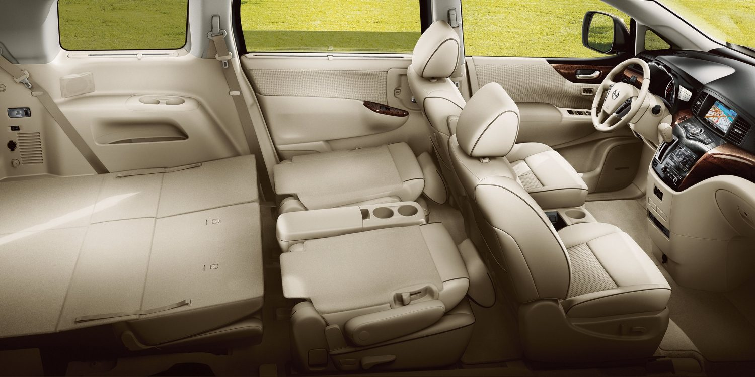 Nissan Quest Interior Showing Rear