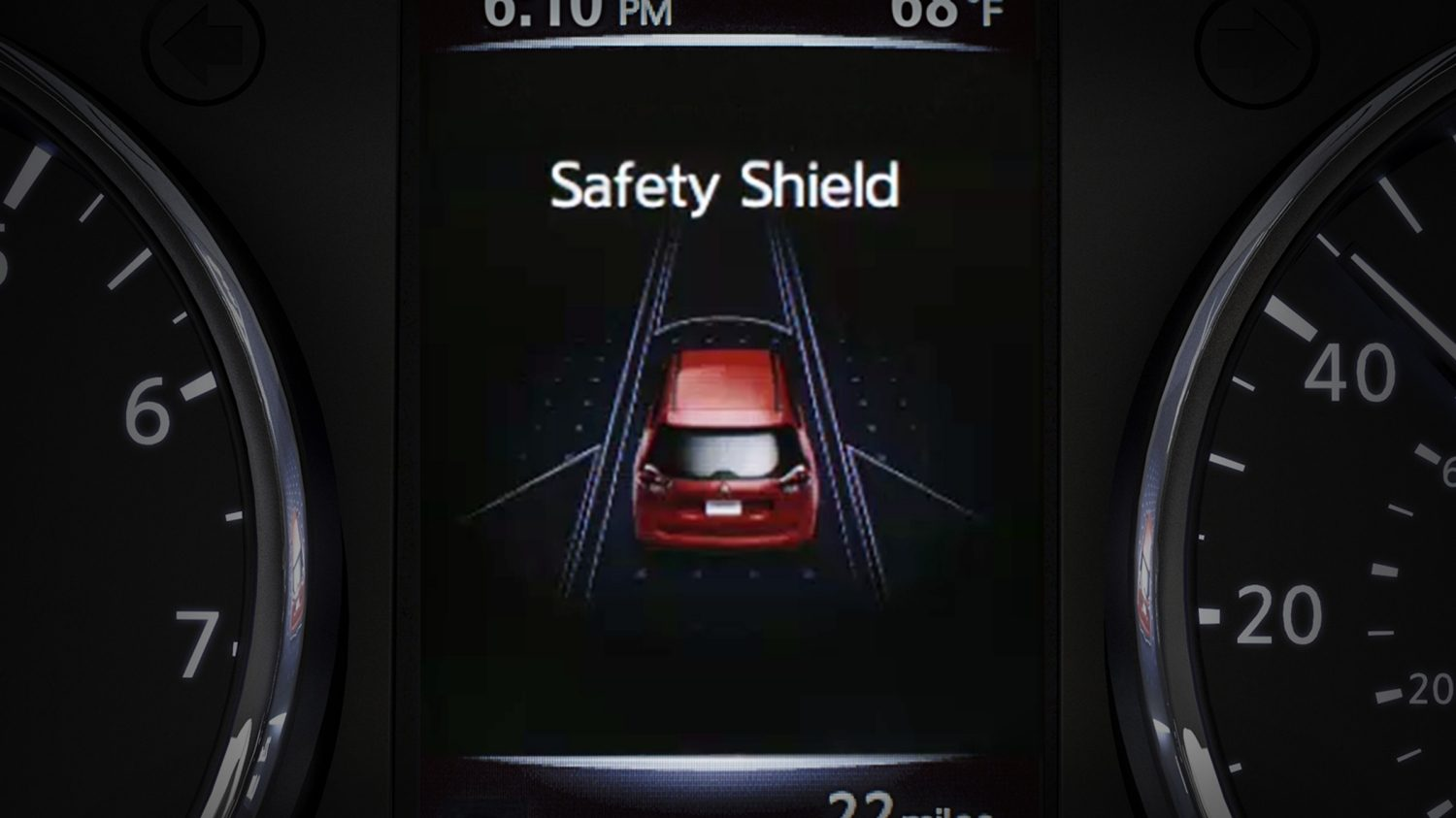 Nissan Rogue Advanced Drive-Assist Display