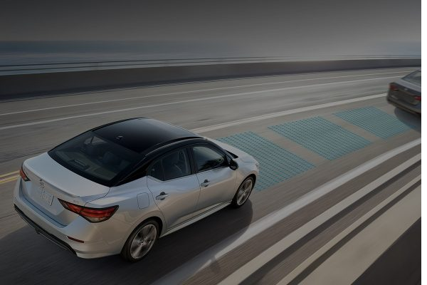 2020 Nissan Sentra driving assistance features