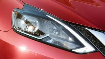 Nissan Sentra LED headlamps