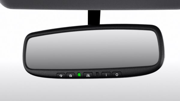 Nissan Sentra auto-dimming rearview mirror