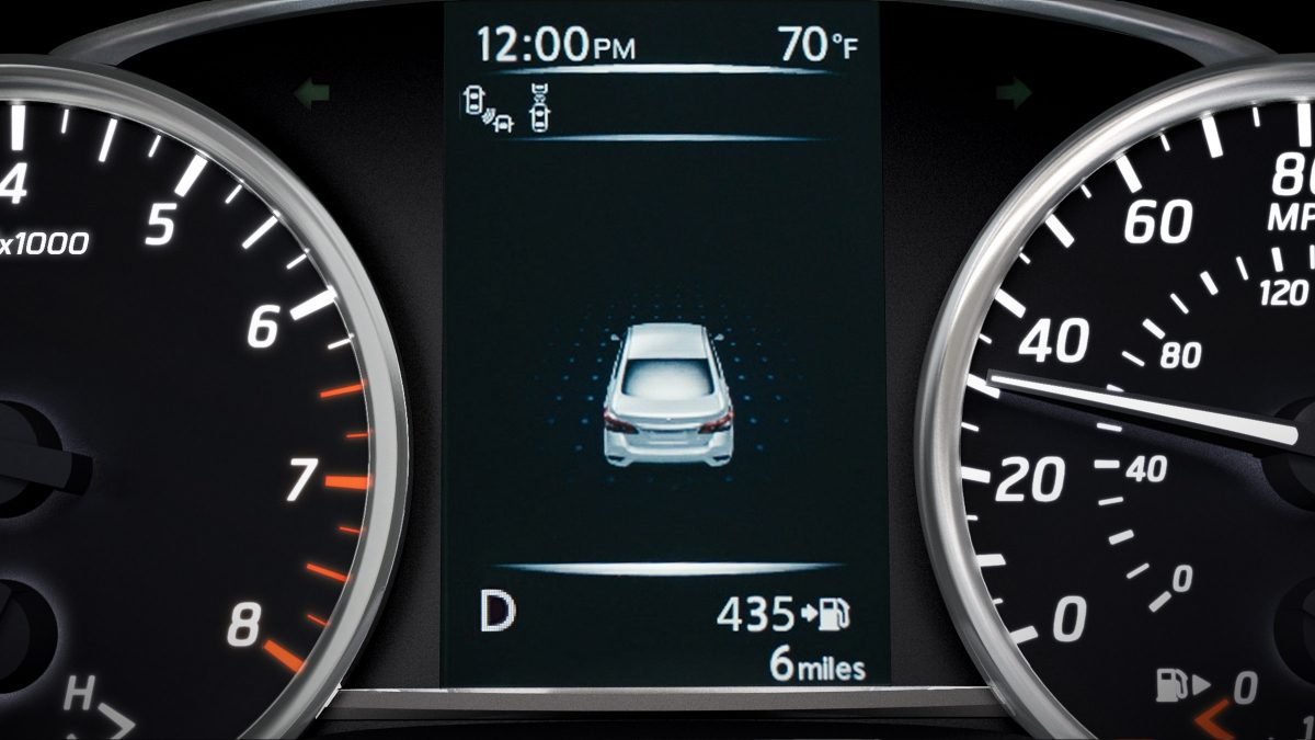 Nissan Sentra Advanced Drive-Assist Display