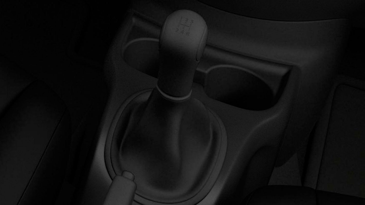 5- speed manual transmission shifter