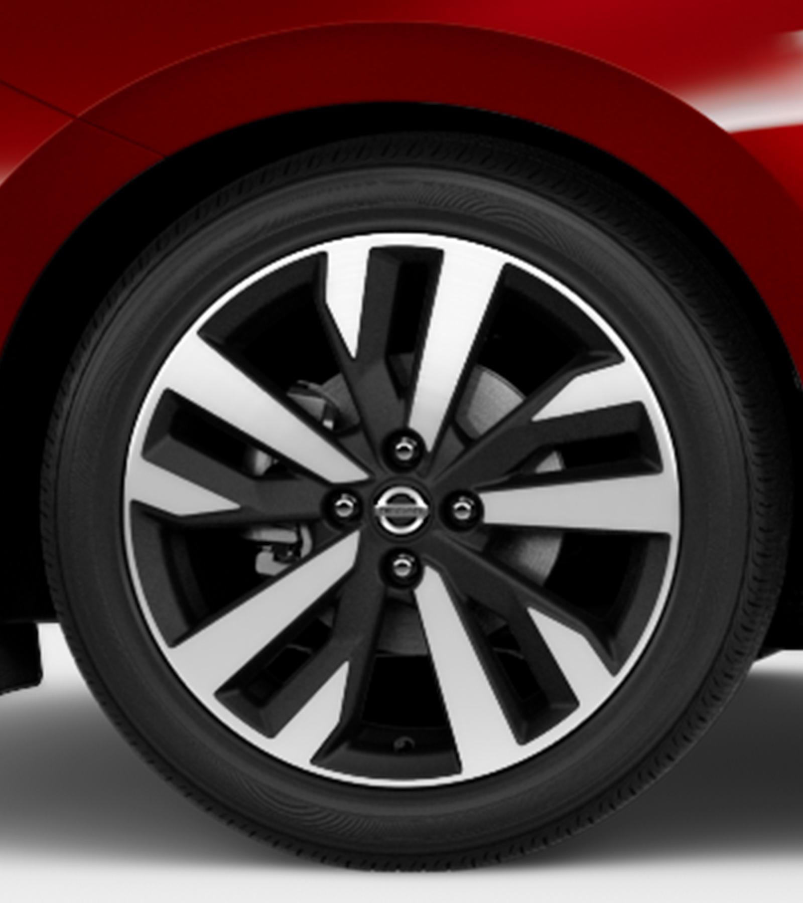 2020 Nissan Versa alloy wheel