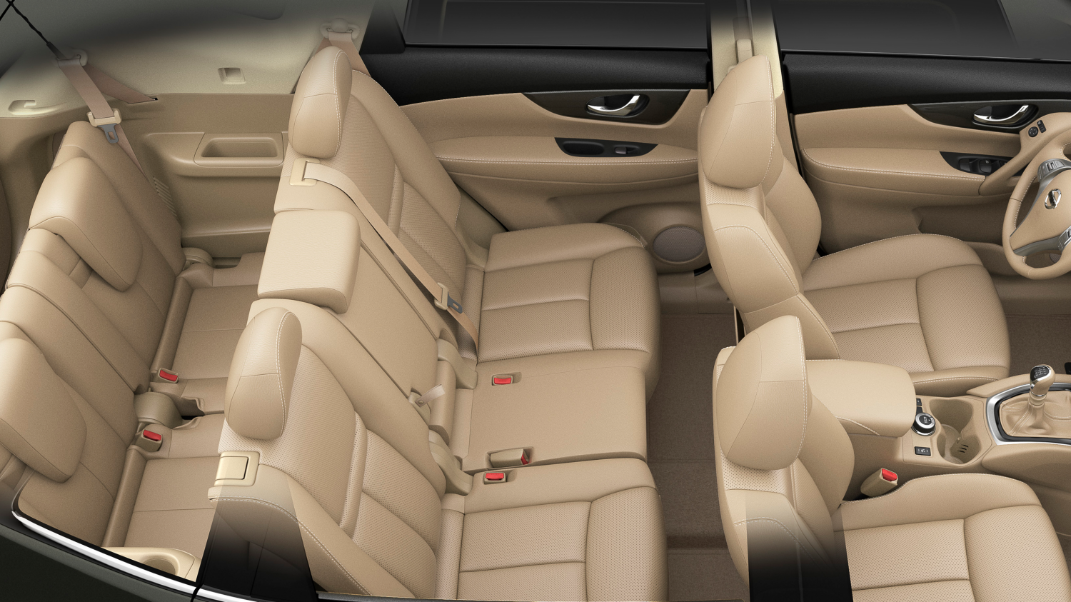 Nissan X-Trail | 4x4 interior