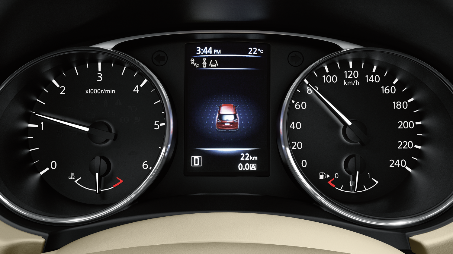Nissan X-TRAIL SUV - Advanced Drive-Assist Display