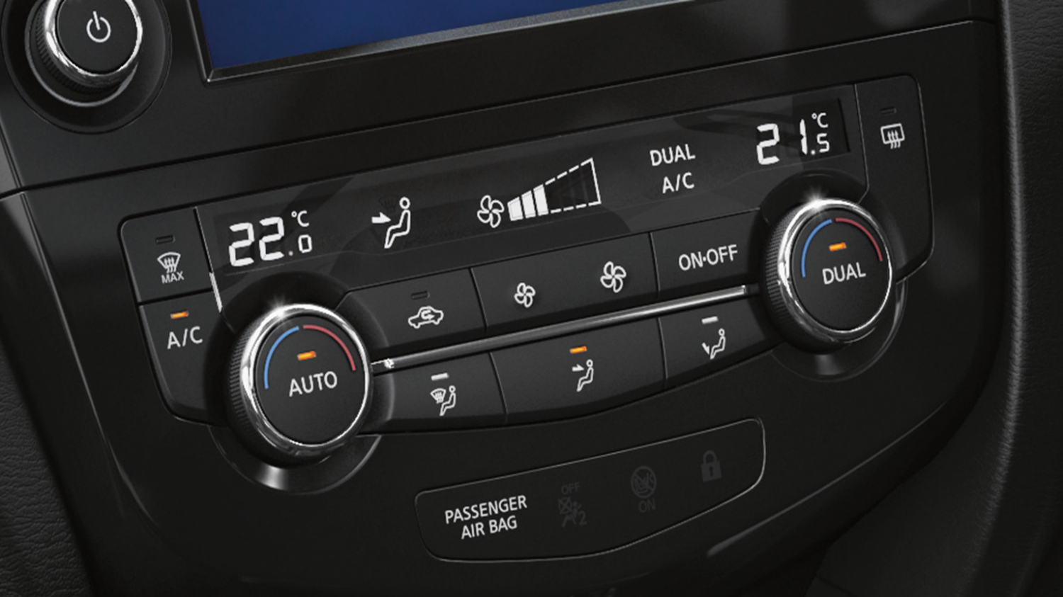 Nissan X-Trail | Temperature controls