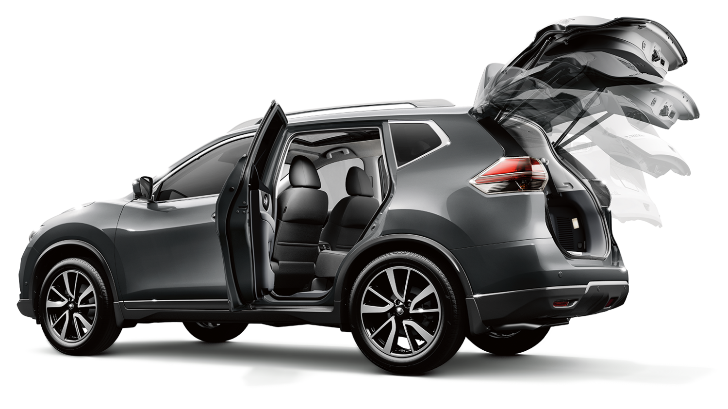 Nissan X-Trail | Rear doors