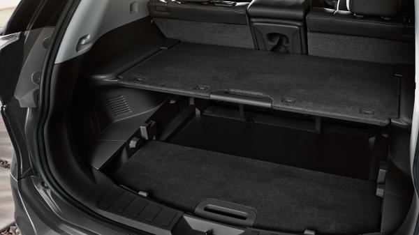 Nissan X-TRAIL - система организации багажного отделения