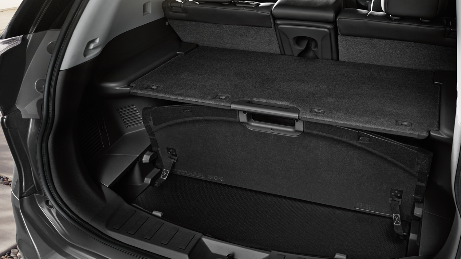 Nissan X-Trail | Secret loading space