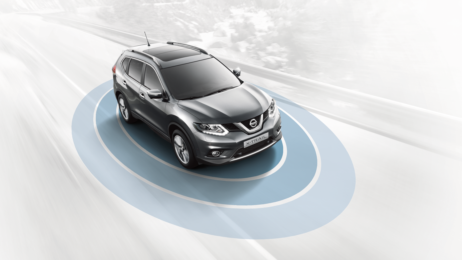 Nissan X-TRAIL SUV - Safety Shield-systeem