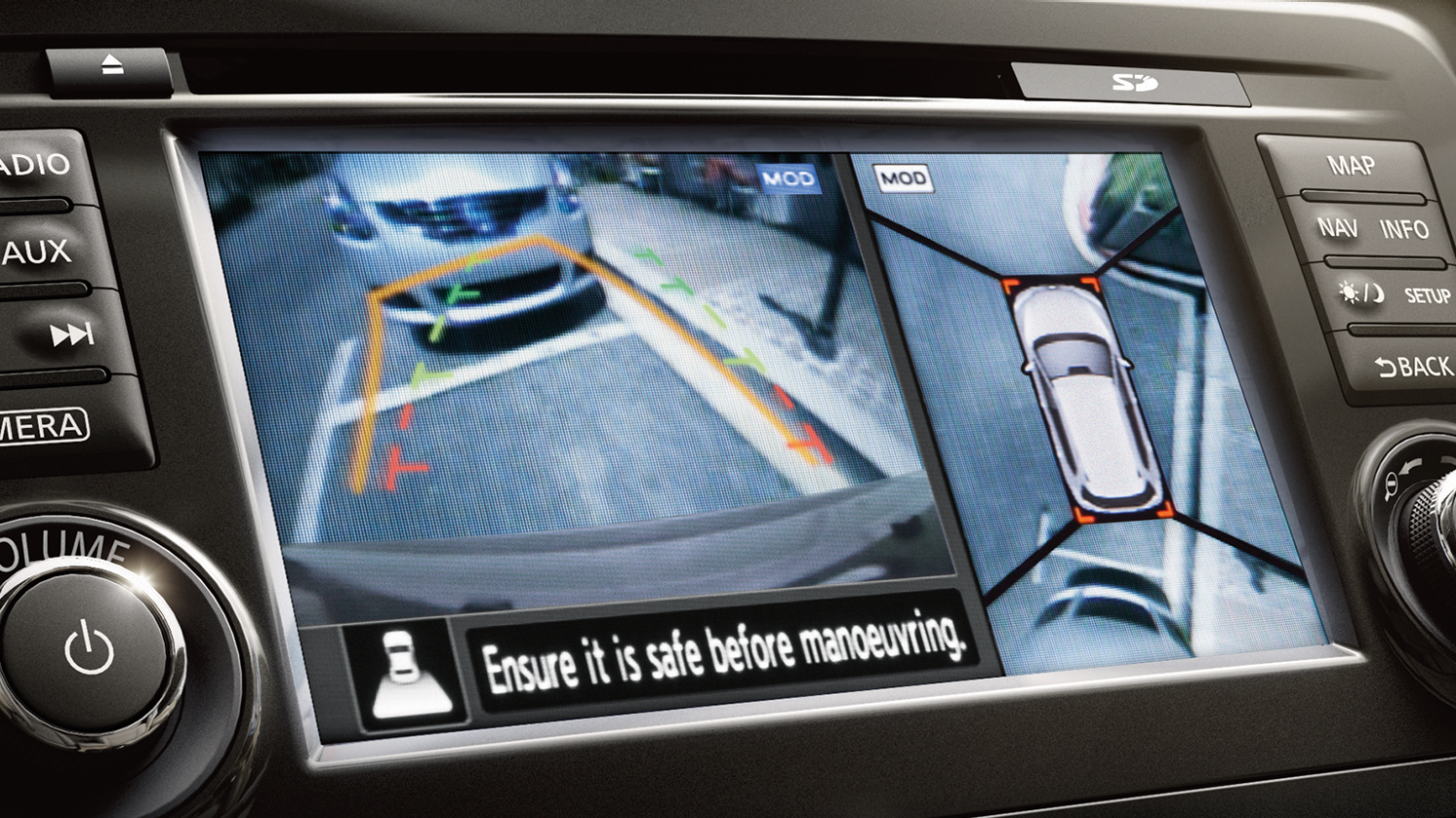 Nissan X-TRAIL SUV - Around View Monitor