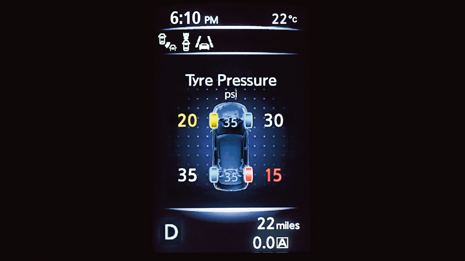 7 seater & 4x4 car features - Tyre pressure monitoring system | Nissan X-Trail