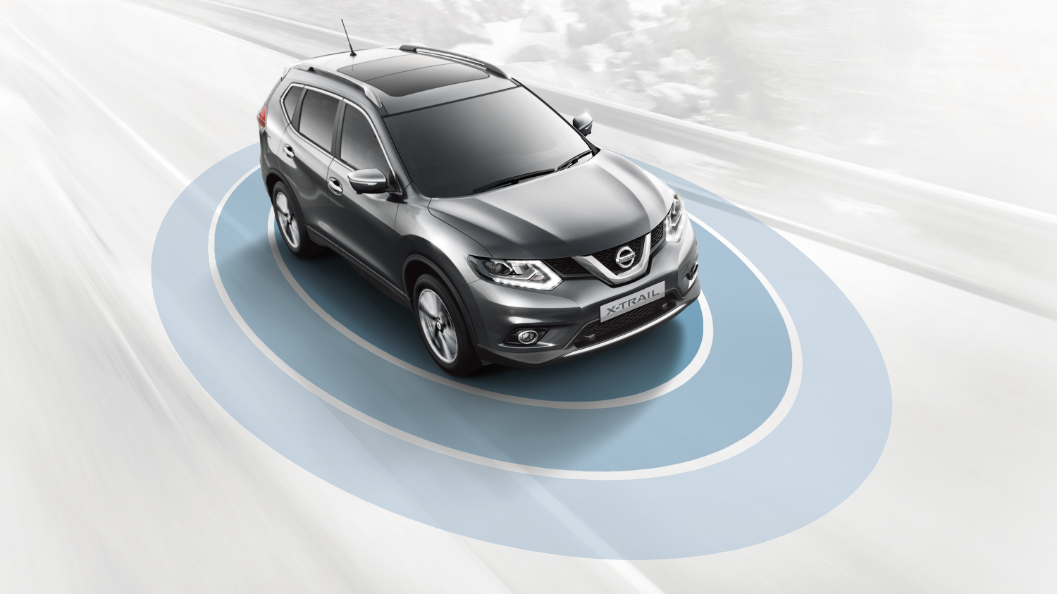 Nissan X-Trail - Safety shield system