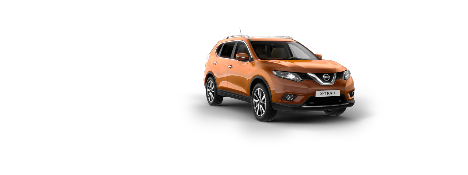 7 seater & 4x4 car - Copper Blaze | Nissan X-Trail
