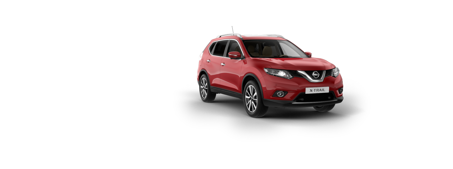 SUV 7 places & 4x4 - Rouge Rubis | Nissan X-Trail
