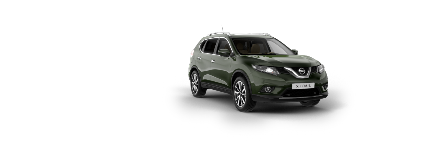 SUV 7 places & 4x4 - Vert Maquis | Nissan X-Trail