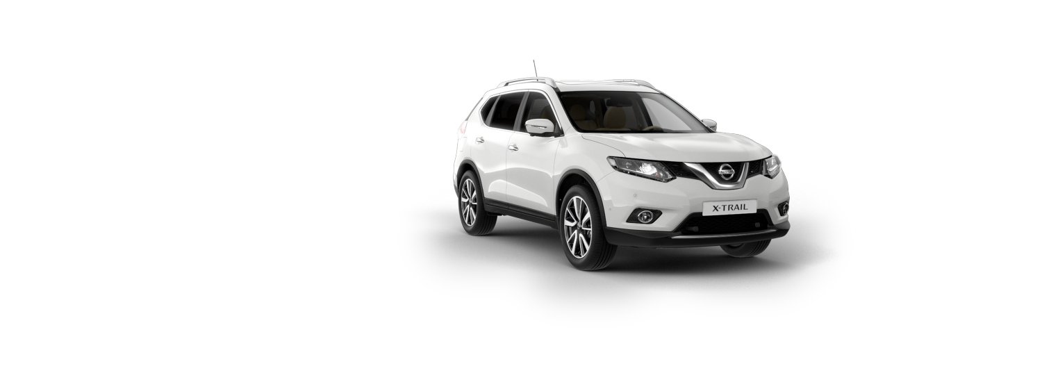 7 seater & 4x4 car - Storm White | Nissan X-Trail