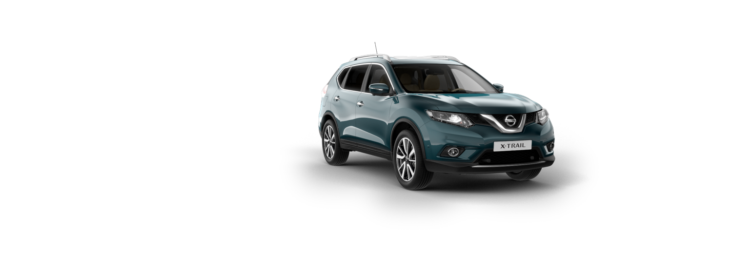 7 seater & 4x4 car - Haptic Blue | Nissan X-Trail