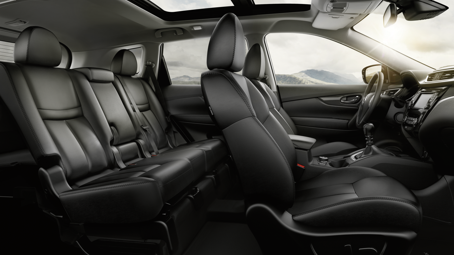 Nissan X-Trail - First two rows seating