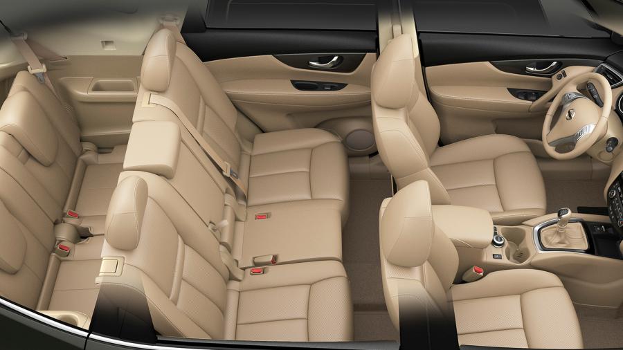 Nissan X-TRAIL SUV - Drie rijen stoelen