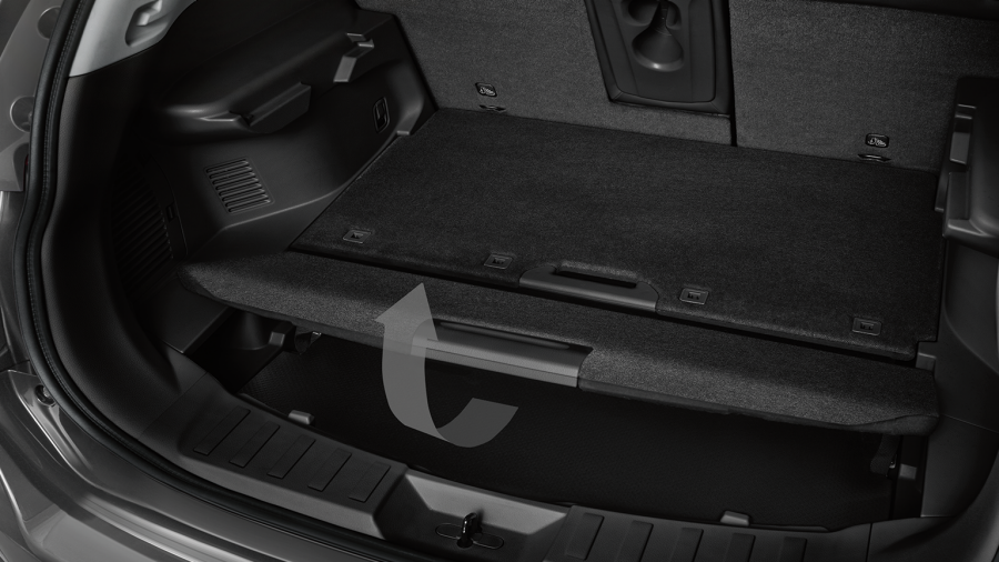 7 seater & 4x4 car - Luggage Board System | Nissan X-Trail