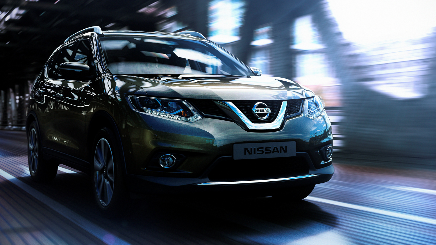 Nissan X-Trail - Imagine frontală 3/4