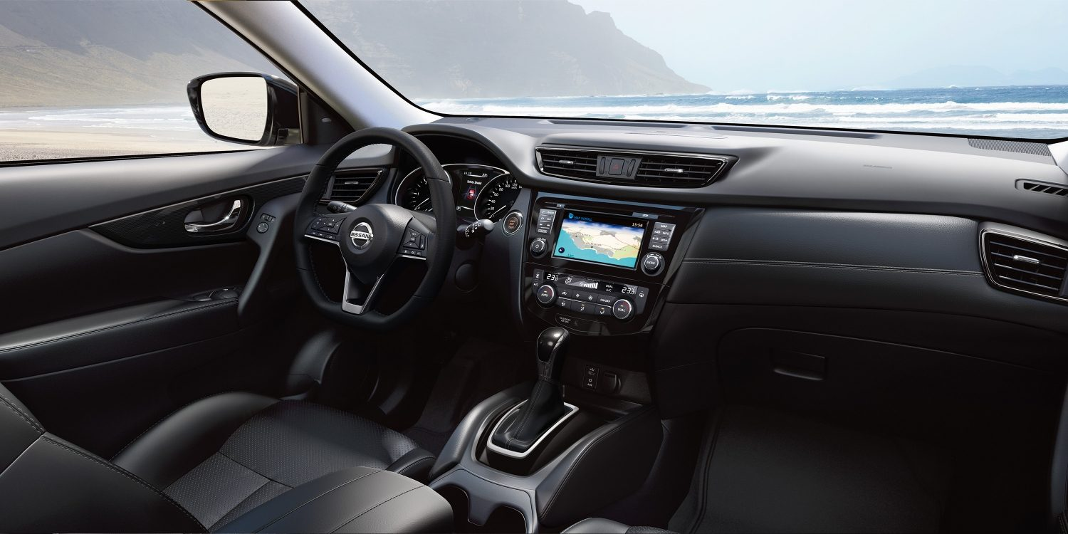 Interior do Nissan X-TRAIL