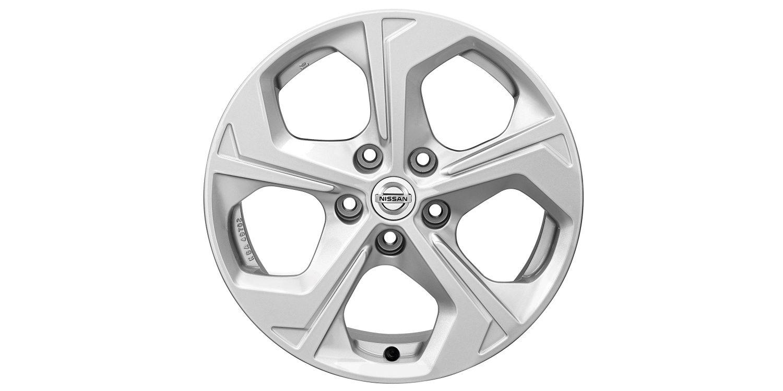 17-дюймовый литой диск FLOW для Nissan X-TRAIL, серебристый