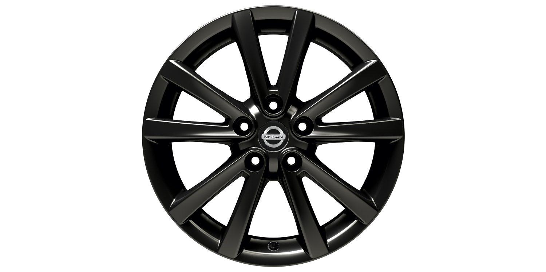 17-дюймовый литой диск FUJI для Nissan X-TRAIL, черный