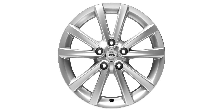 17-дюймовый литой диск премиум-класса FUJI для Nissan X-TRAIL, серебристый