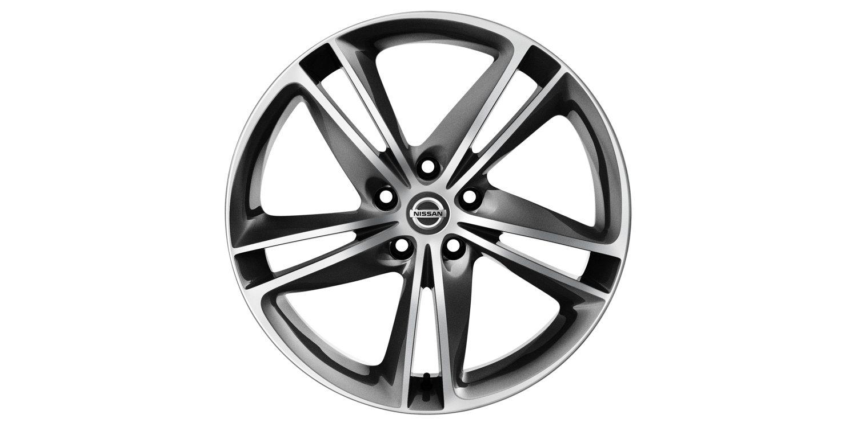 19-дюймовый литой диск IBISCUS для Nissan X-TRAIL, серый, полированный