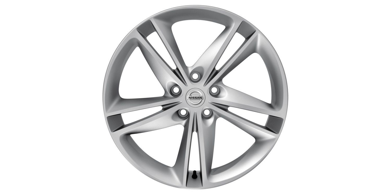 19-дюймовый литой диск IBISCUS для Nissan X-TRAIL, серебристый