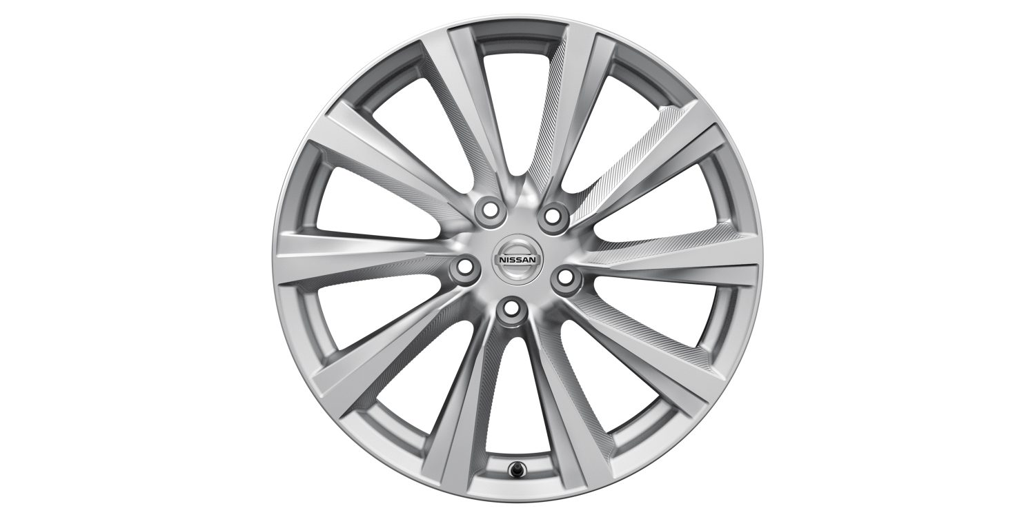 "Nissan X-TRAILi 19"" hõbedased valuveljed Wind"