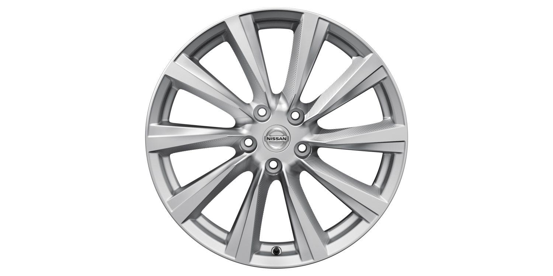 19-дюймовый литой диск Wind для Nissan X-TRAIL, серебристый