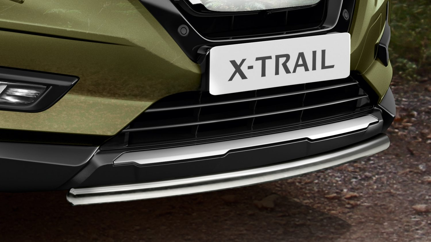 Barra embellecedora frontal del X-Trail