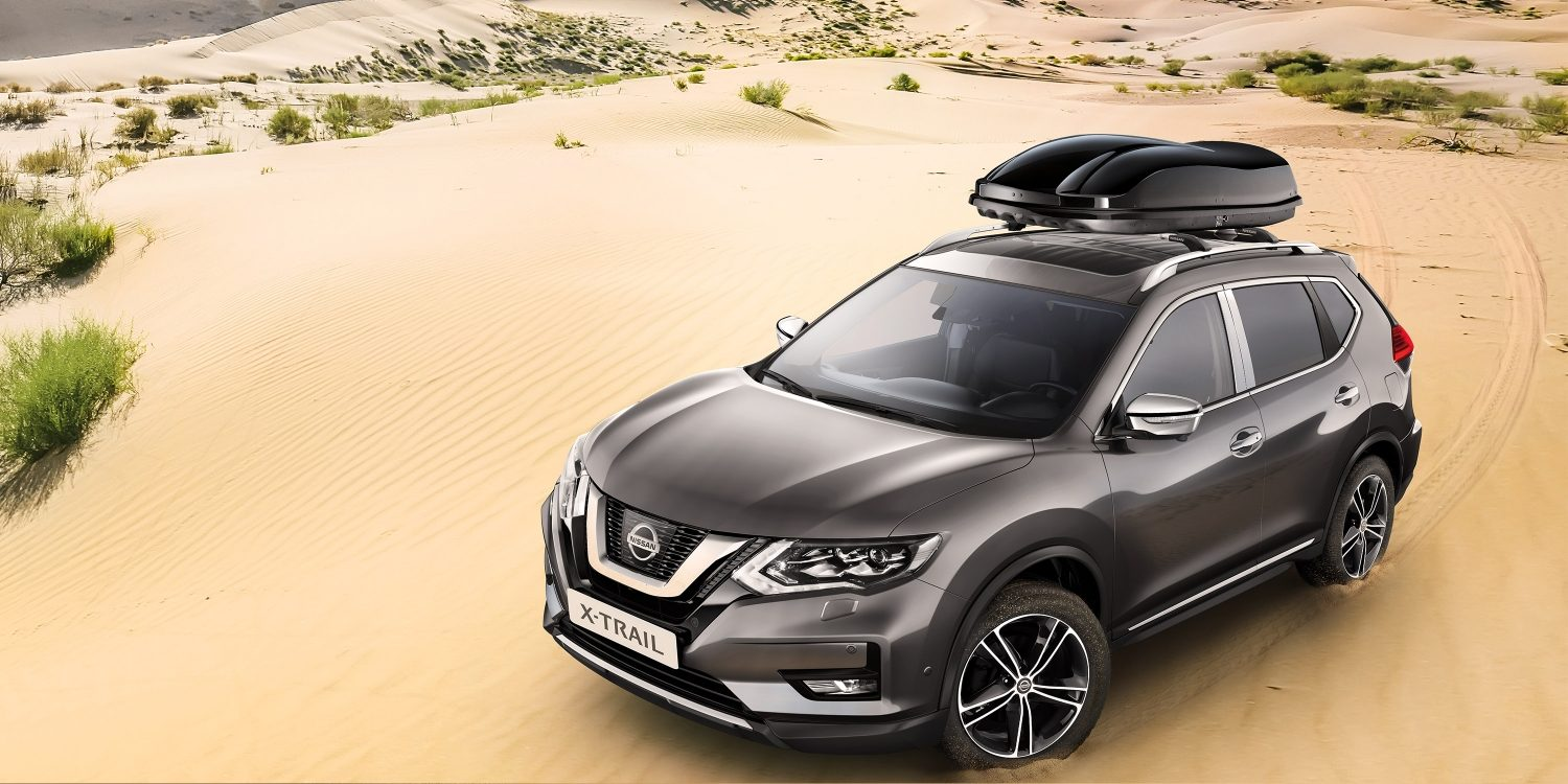 Nissan X-TRAIL ar Premium Chrome Pack.