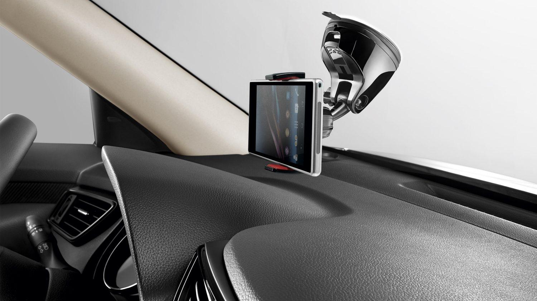 Держатель для смартфона с вращением на 360 градусов (черный) для Nissan X-TRAIL