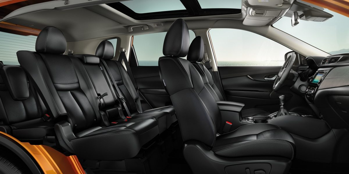 X-Trail Large interior con asientos