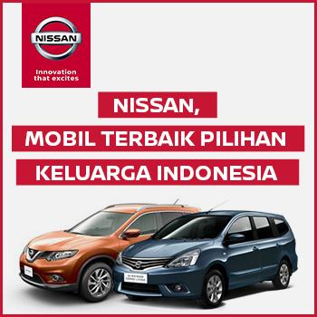 Banner Nissan Mobil Terbaik Pilihan Keluarga Indonesia