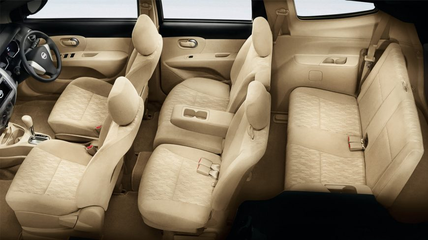 low-fatigue front seat