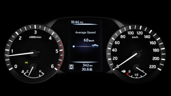 DRIVE-ASSIST DISPLAY (GAUGES)