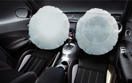 dual srs air bag juke revolt II 2016